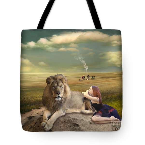 A Magnificent Friendship Tote Bag by Linda Lees