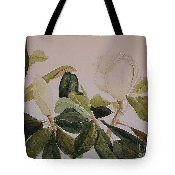 A Magnolia Duet Tote Bag by Nancy Kane Chapman