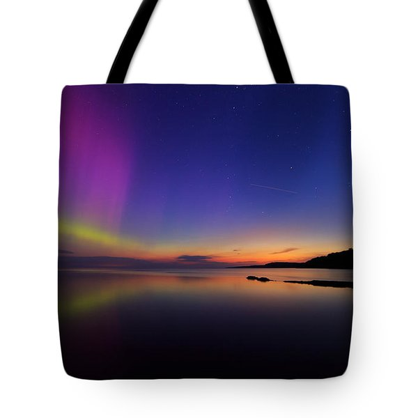 A Majestic Sky Tote Bag by Everet Regal