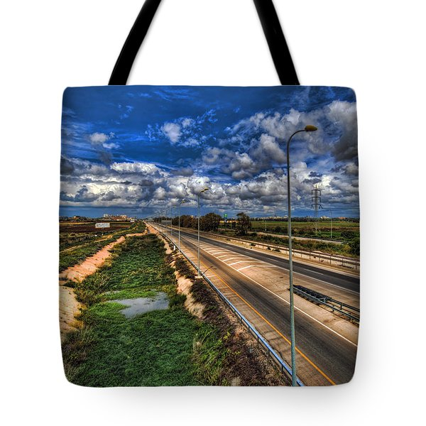 Tote Bag featuring the photograph a majestic springtime in Israel by Ron Shoshani