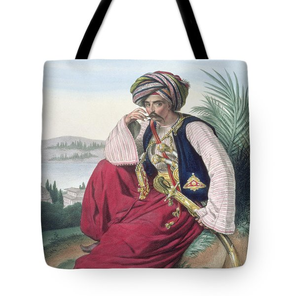 A Mameluke Or Slave Soldier, Engraved Tote Bag