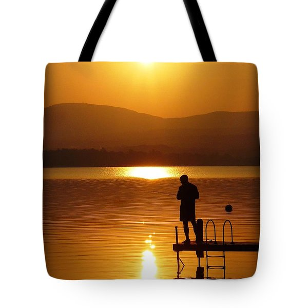 A Man And His Thoughts  Tote Bag by Mike Ste Marie
