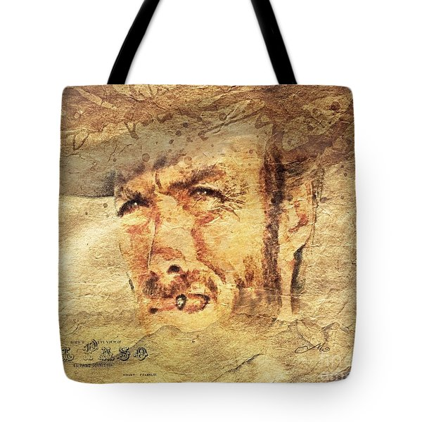 A Man With No Name Tote Bag