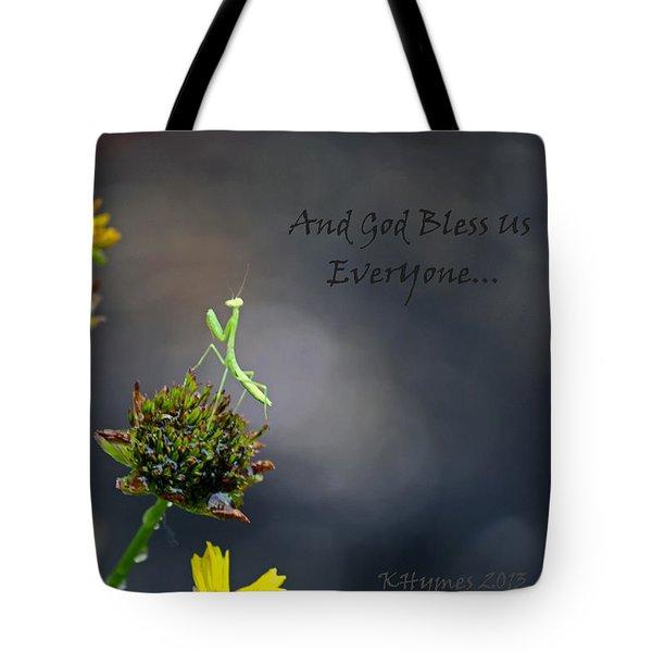 A Mantis Prayer Tote Bag