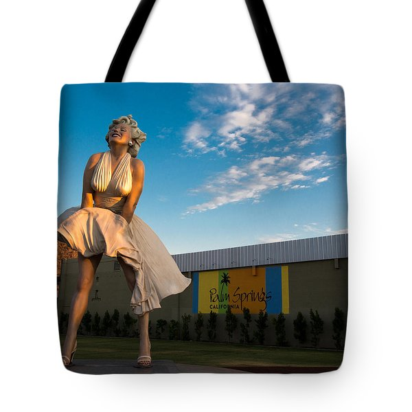 A Marilyn Morning Tote Bag