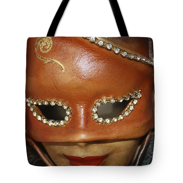 A Mask Tote Bag by Tommytechno Sweden