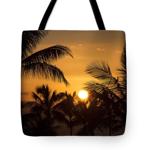 A Maui Sunset Tote Bag