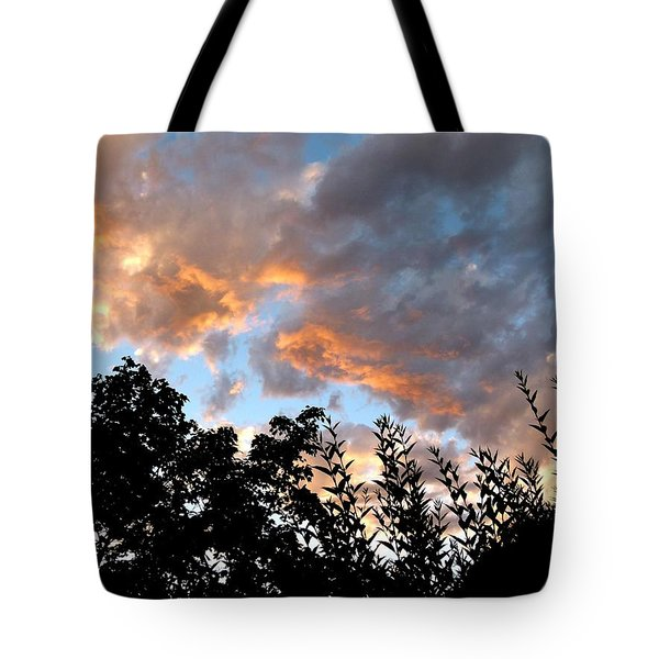 A Memorable Sky Tote Bag by Will Borden