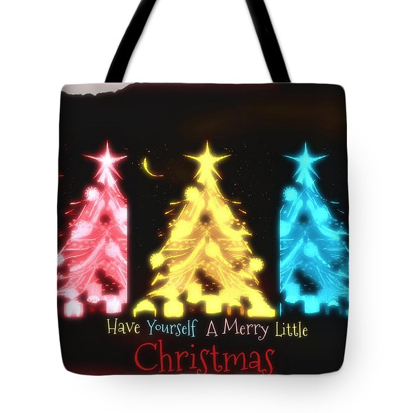 A Merry Little Christmas Tote Bag