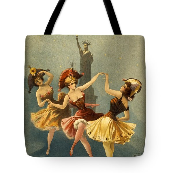 A Midnight Frolic Tote Bag by Aged Pixel