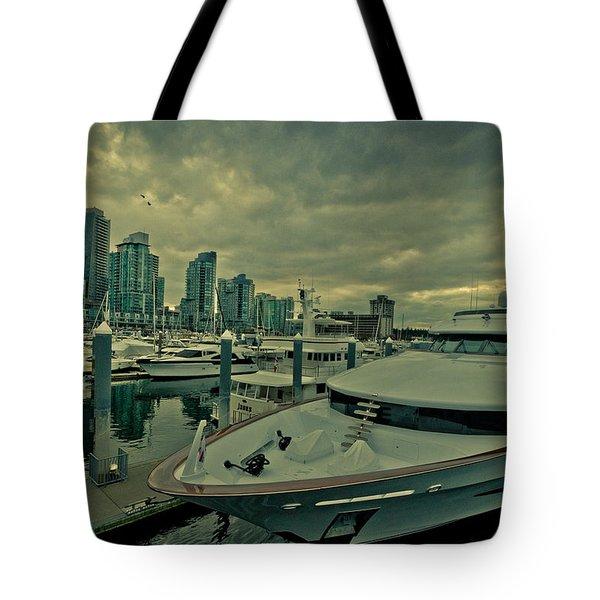A Million Dollar Ride Yacht  Tote Bag by Eti Reid