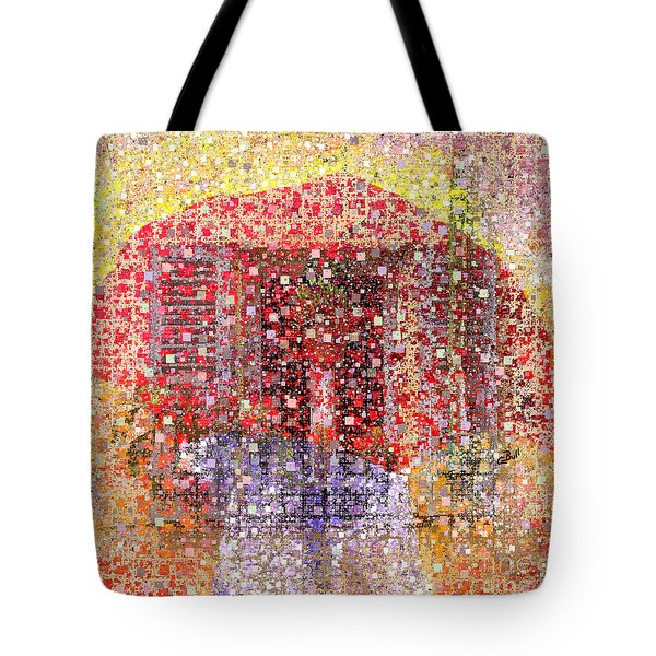A Mix Of Rain And Snow Today Tote Bag