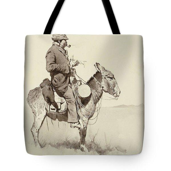 A Modern Sancho Panza Tote Bag