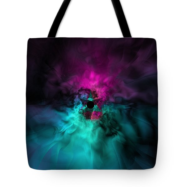 A Moment Of Uncertain Clarity Tote Bag by Elizabeth McTaggart