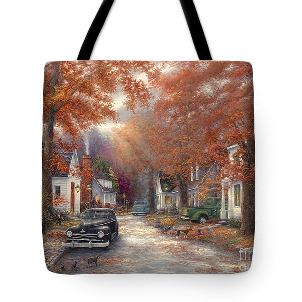A Moment On Memory Lane Tote Bag
