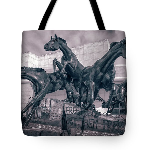 A Monument To Freedom II Tote Bag