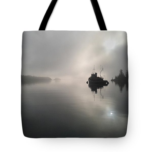 A Moody Morning Tote Bag
