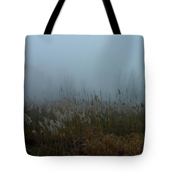 A Morning Fog Tote Bag