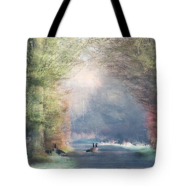 A Morning In Eden Tote Bag