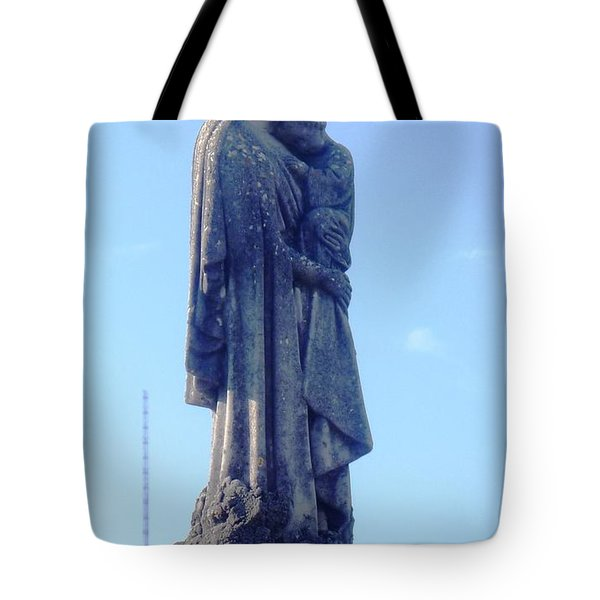 Tote Bag featuring the photograph A Mother's Love by Alys Caviness-Gober