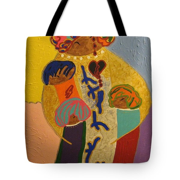 A Mother's Love Tote Bag by Clarissa Burton