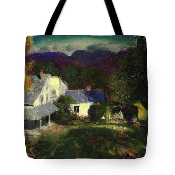 A Mountain Farm Tote Bag