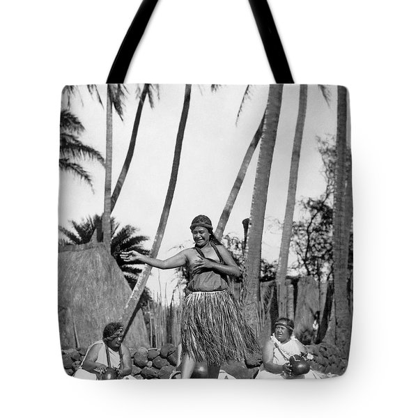 A Native Hawaiian Dancer Tote Bag