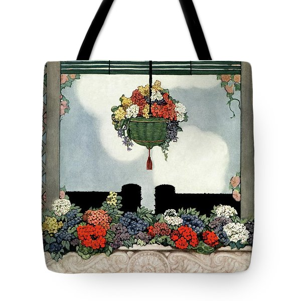 A Neo-classical Marble Window Sill Tote Bag