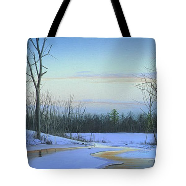 A New Dawn Tote Bag by Mike Brown
