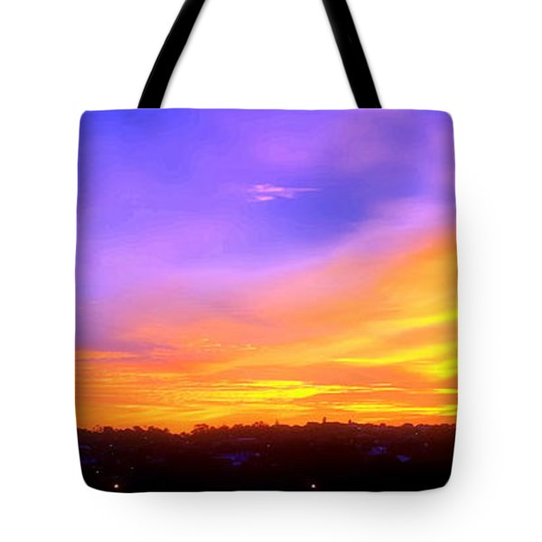 Tote Bag featuring the photograph A New Dawn by Roberto Gagliardi
