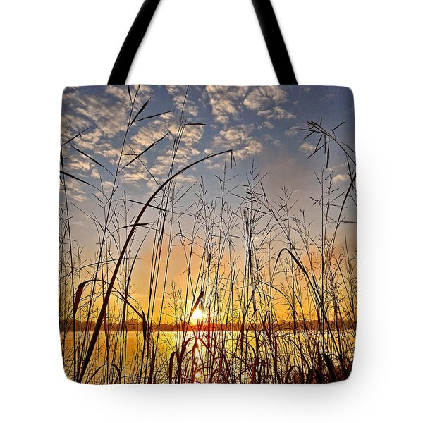 A New Day Begins ... Tote Bag by Juergen Weiss
