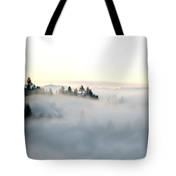 A New Day Tote Bag by Lisa Knechtel
