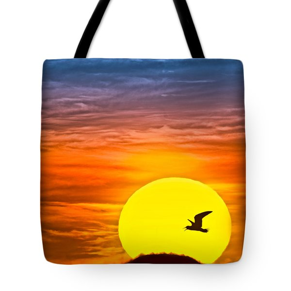 A New Day Tote Bag by Susan Candelario
