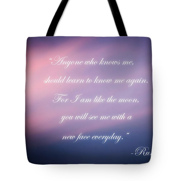 A New Face Tote Bag