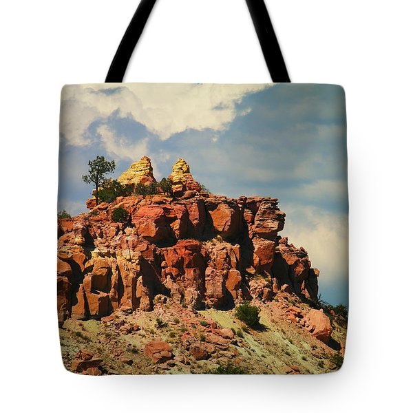 A New Mexico View Tote Bag by Jeff Swan