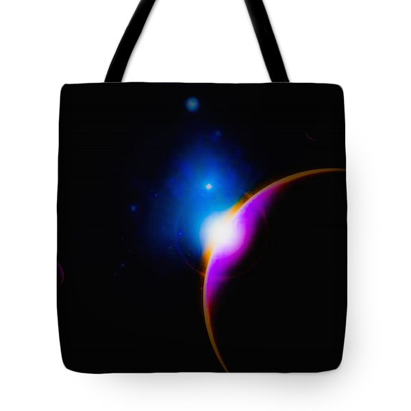A New Sunrise Tote Bag by Naomi Burgess