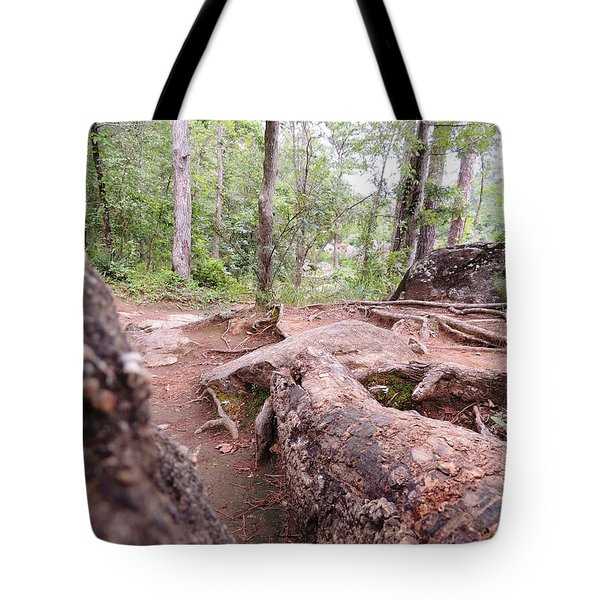A New View From The Woods Tote Bag