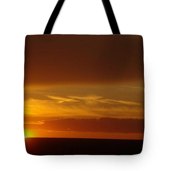 A Nice Cintemplative Sky  Tote Bag by Jeff Swan