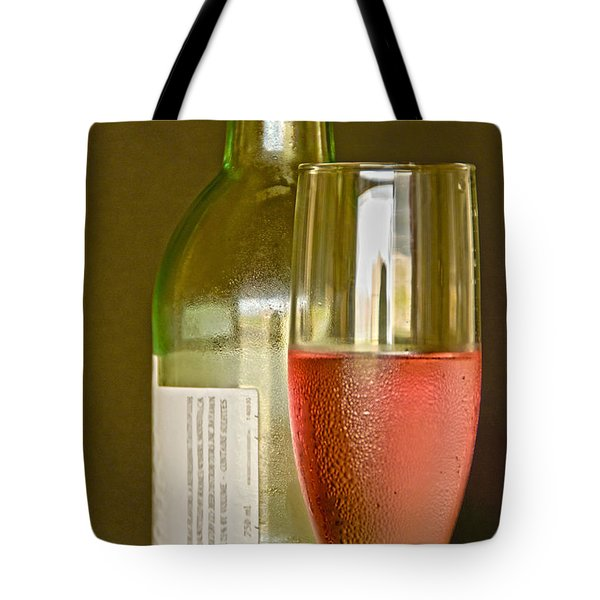 A Nice Glass Of Wine Tote Bag