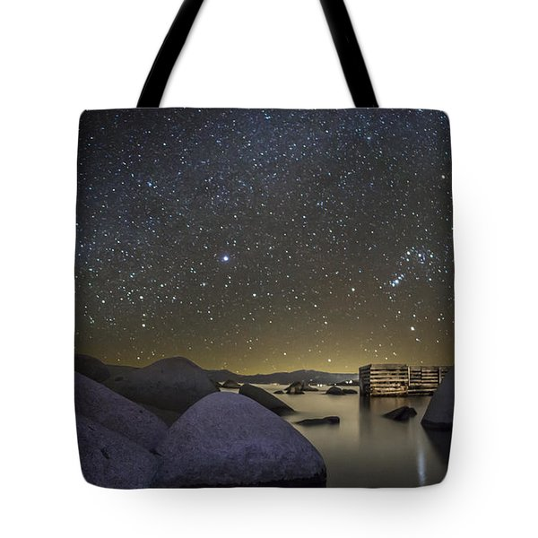 A Night At Speedboat Tote Bag