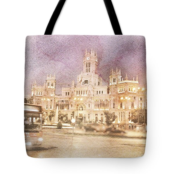 A Night In Madrid  Tote Bag