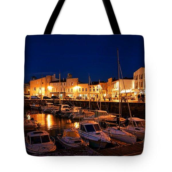 A Night In Saint Martin Tote Bag