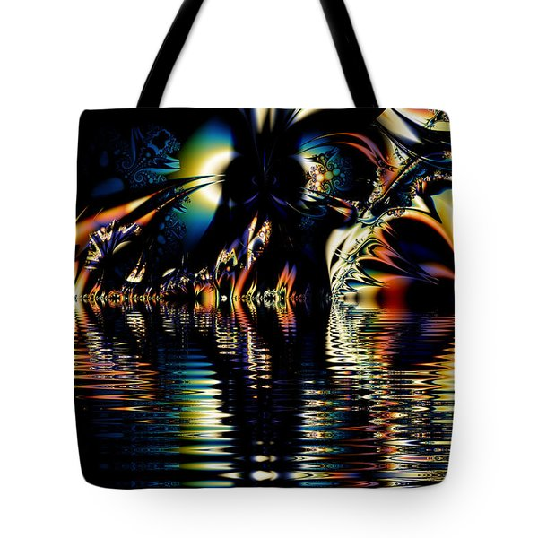 A Night On The Water Tote Bag