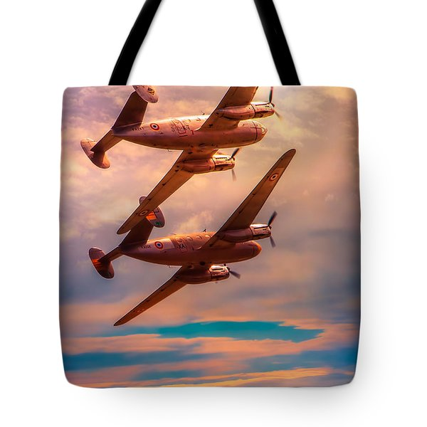 Tote Bag featuring the photograph A Pair Of Flamingos by Chris Lord