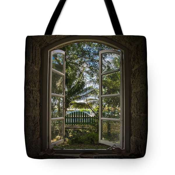 A Paradise Awaits Tote Bag