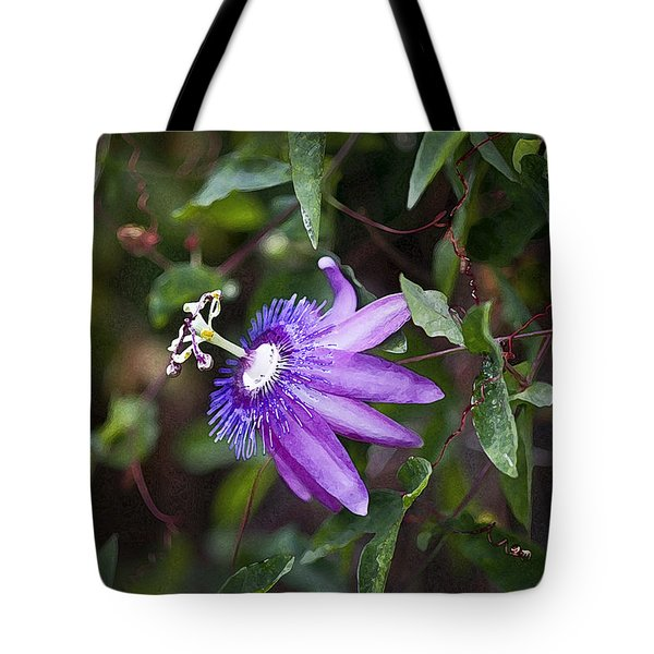 A Passion For Flowers Db Tote Bag by Rich Franco