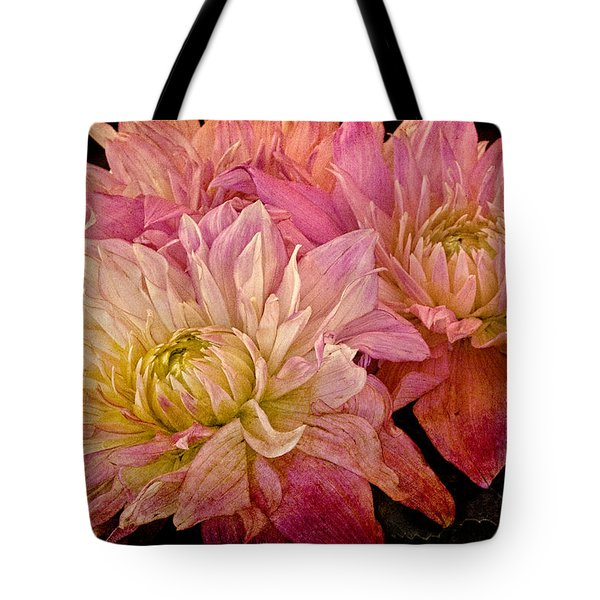 A Pastel Bouquet Tote Bag by Chris Lord