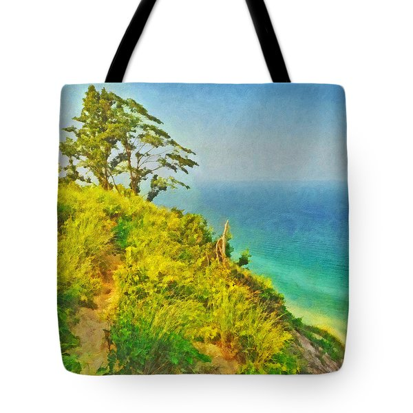 A Path To A Tree Tote Bag