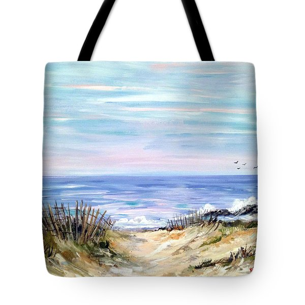 Where The Waves Are Tote Bag