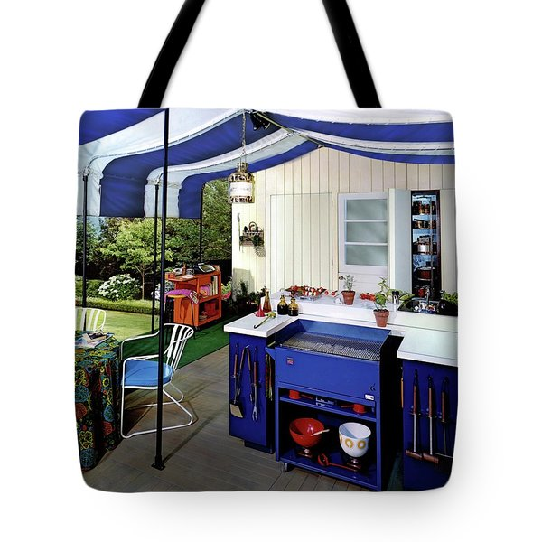A Patio Tote Bag